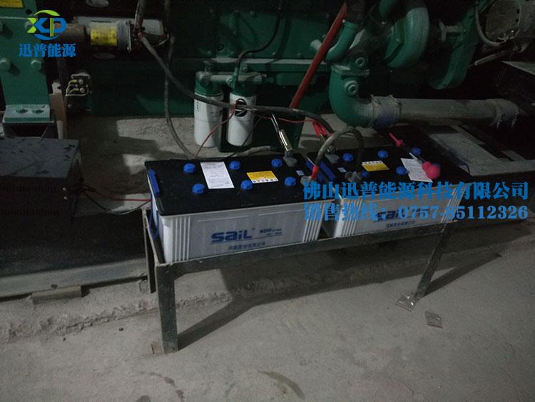 风帆蓄电池12V200Ah/N200加液型发电机安装应用